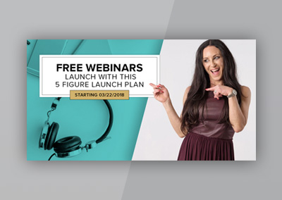 5 Figure Launch Plan Webinar Social Media Package