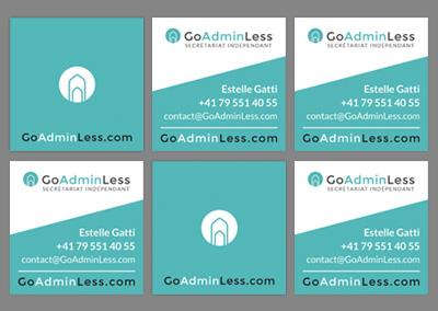 GoAdminLess | Branding