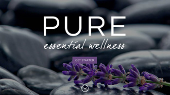 Pure Essential Wellness Website