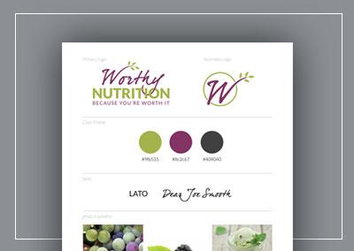 Worthy Nutrition | Branding