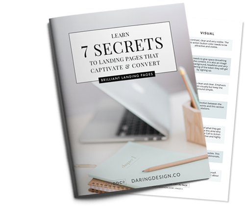 Learn 7 Secrets to Landing Pages that Captivate and Convert