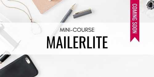 Daring Design Co Mailerlite Mini-Course