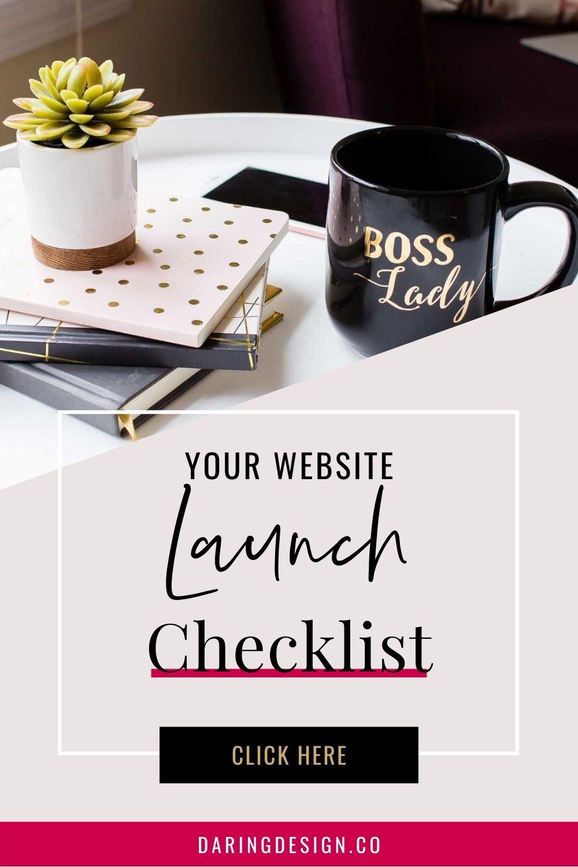Get Your Website Launch Checklist