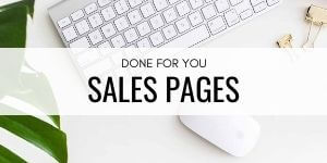 Done For You Sales Pages Daring Design Co