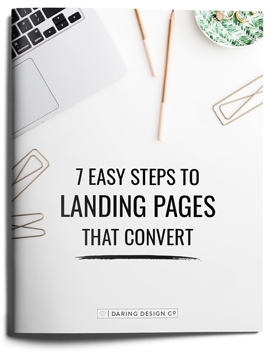7 Easy Steps to Landing Pages that Convert